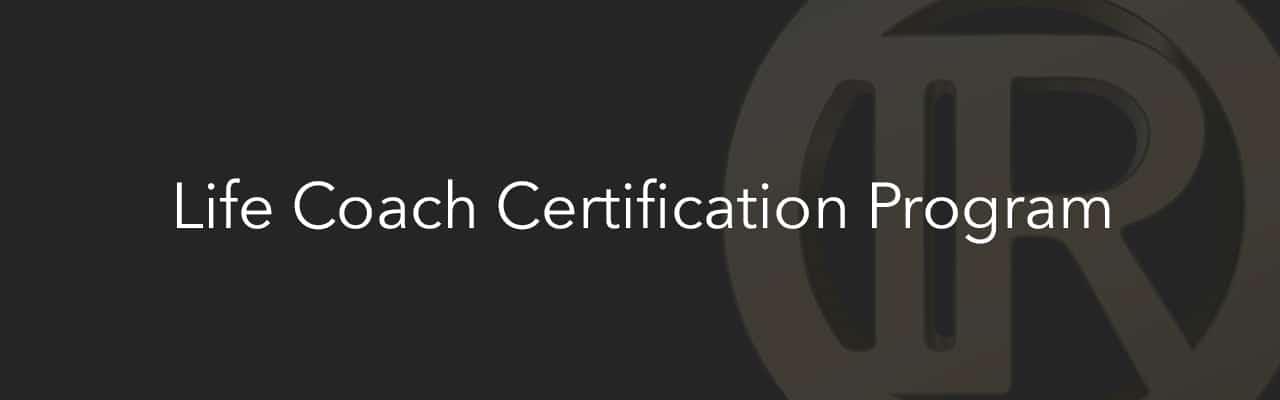 Life Coach Certificatie Programma